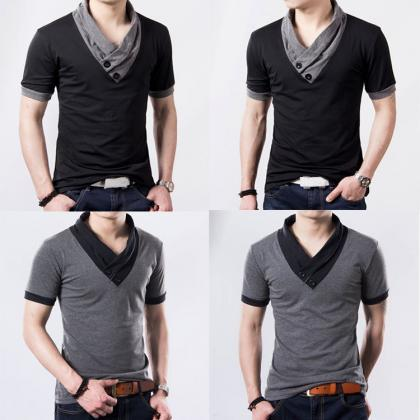 Fashion Men Summer Luxury Casual Bu..