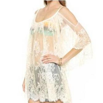 New 2016 Beach Lace Cover Up