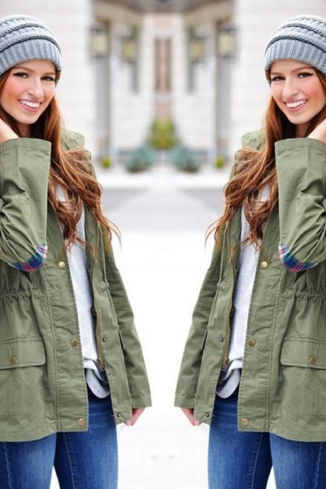 Women's Warm Fashion Hooded Long Coat Jacket Trench Windbreaker Parka Outwear