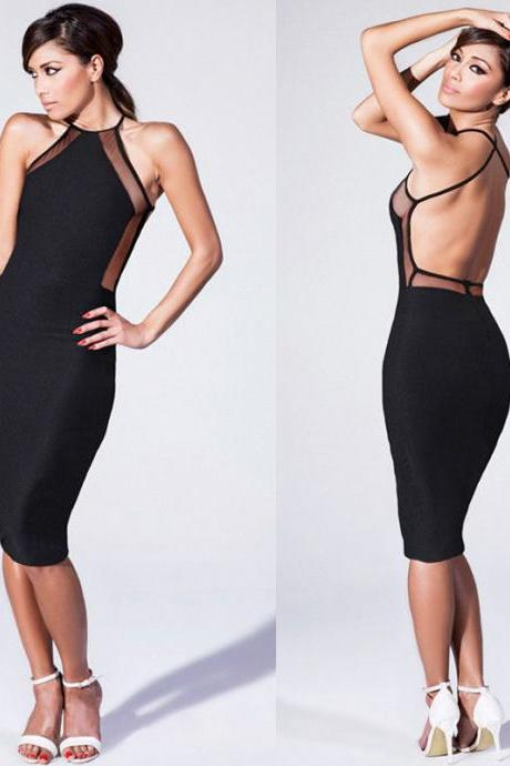Sexy Women Slim Fit Fashion Bodycon Party Cocktail Evening Bandage Club Dress