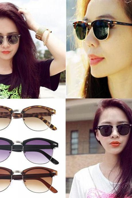 Hot! New Fashion Retro Vintage Womens Mens Designer Oversized Sunglasses Glasses free shipping!