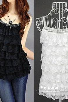 2016 Hot Women Summer Lace Top