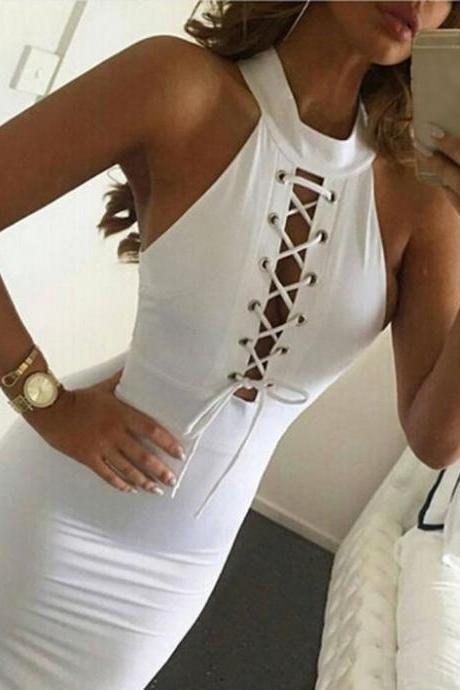 Women Sexy Bandage Club Dress