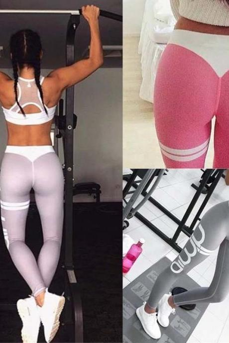 Leggings Fitness Pants Stretch Workout