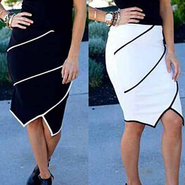 2015 OL Vintage Women Bodycon High Waist Tight Fitted Skater Skirt Pencil Dress