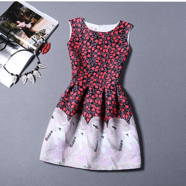 Free shipping Summer New 2016 Women Dress Party ali