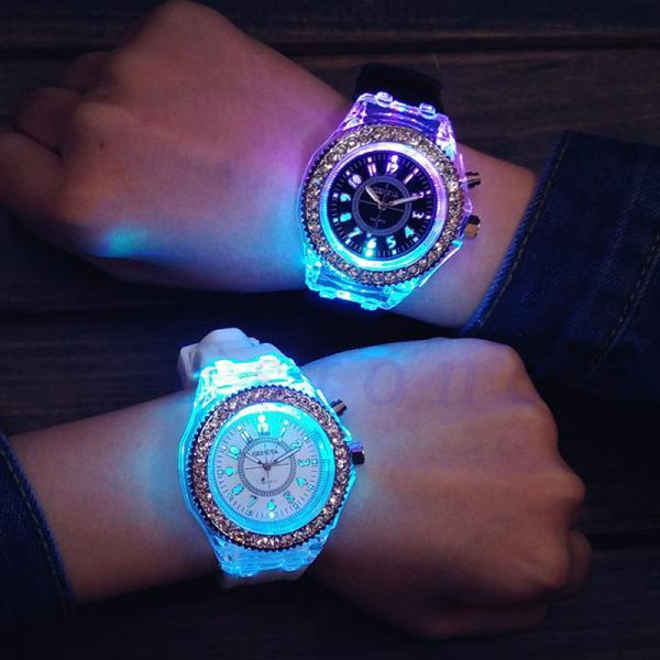 LED WATCH WATERPOOF 5 COLOR
